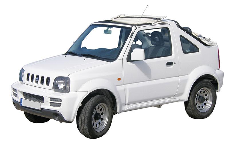 Suzuki Jimny open-top 1.3cc
